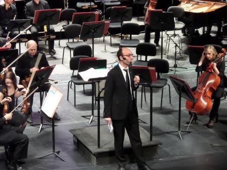 9 janvier 2016, concert commenté Nino Rota à Nancy